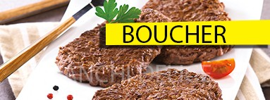 Boucher steak hachés